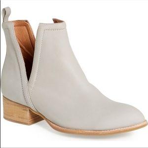 Jeffrey Campbell Muskrat Grey Ankle Booties